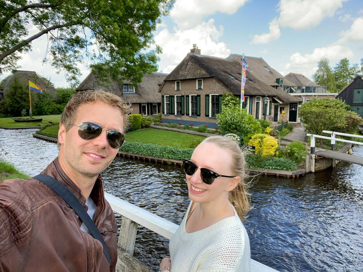 Giethoorn mała Wenecja w Holandii