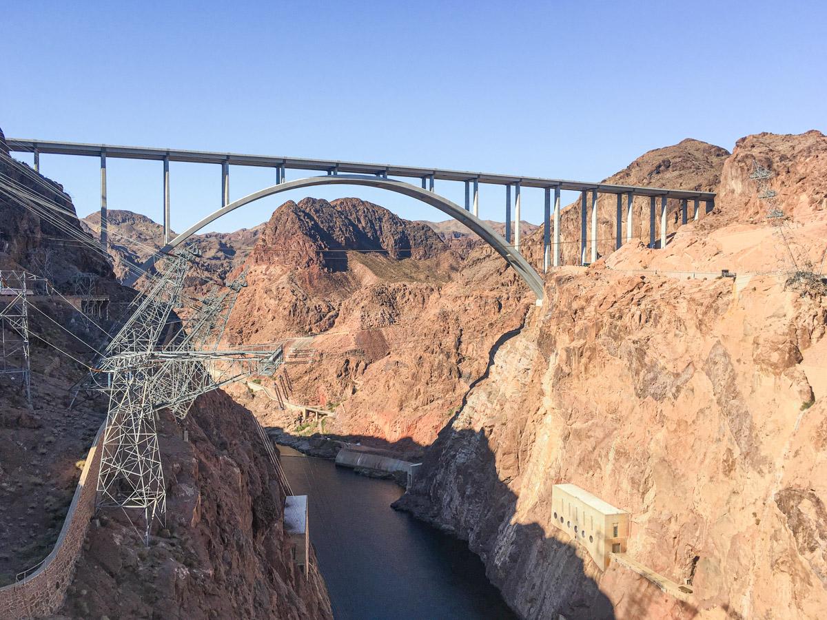 Hoover Dam Bridge USA Pat Tillman Memorial Bridge