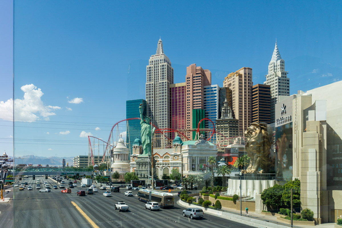 Las Vegas. Miasto grzechu. Hotel New York. Manhattan