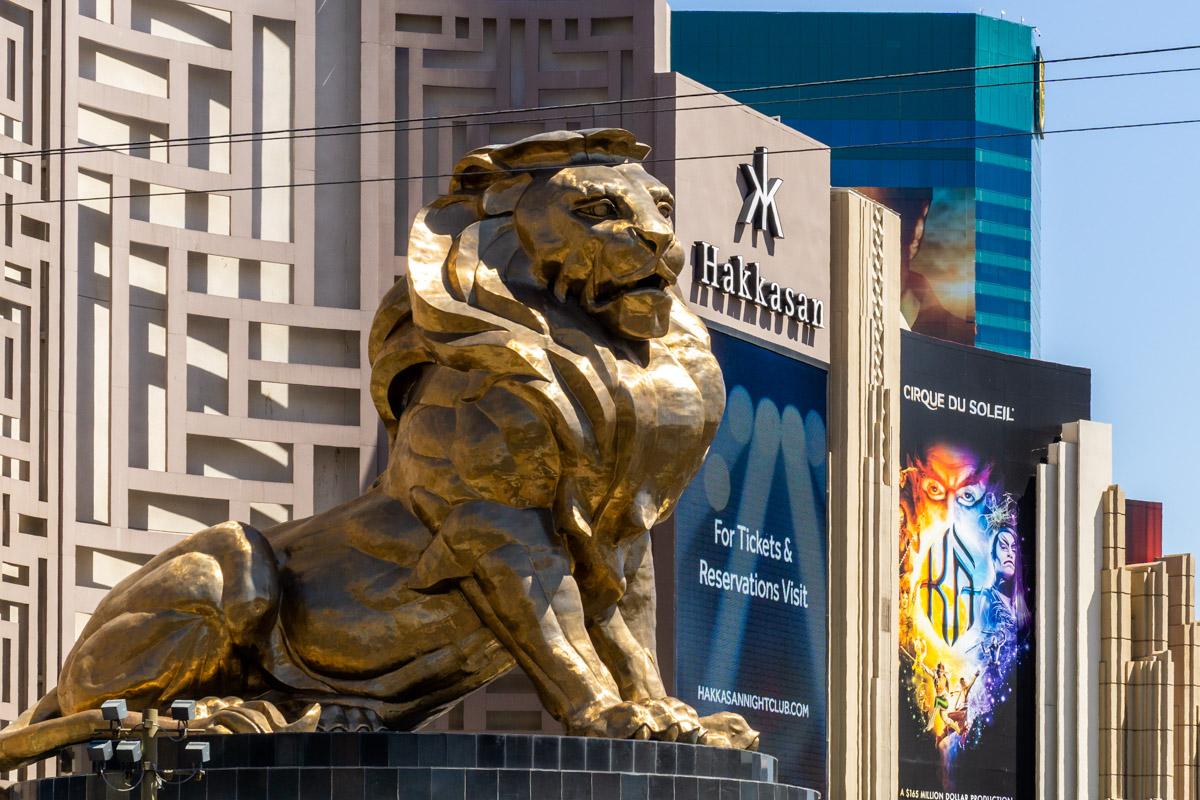 Las Vegas. Miasto grzechu. Hotel MGM Grand. Lew