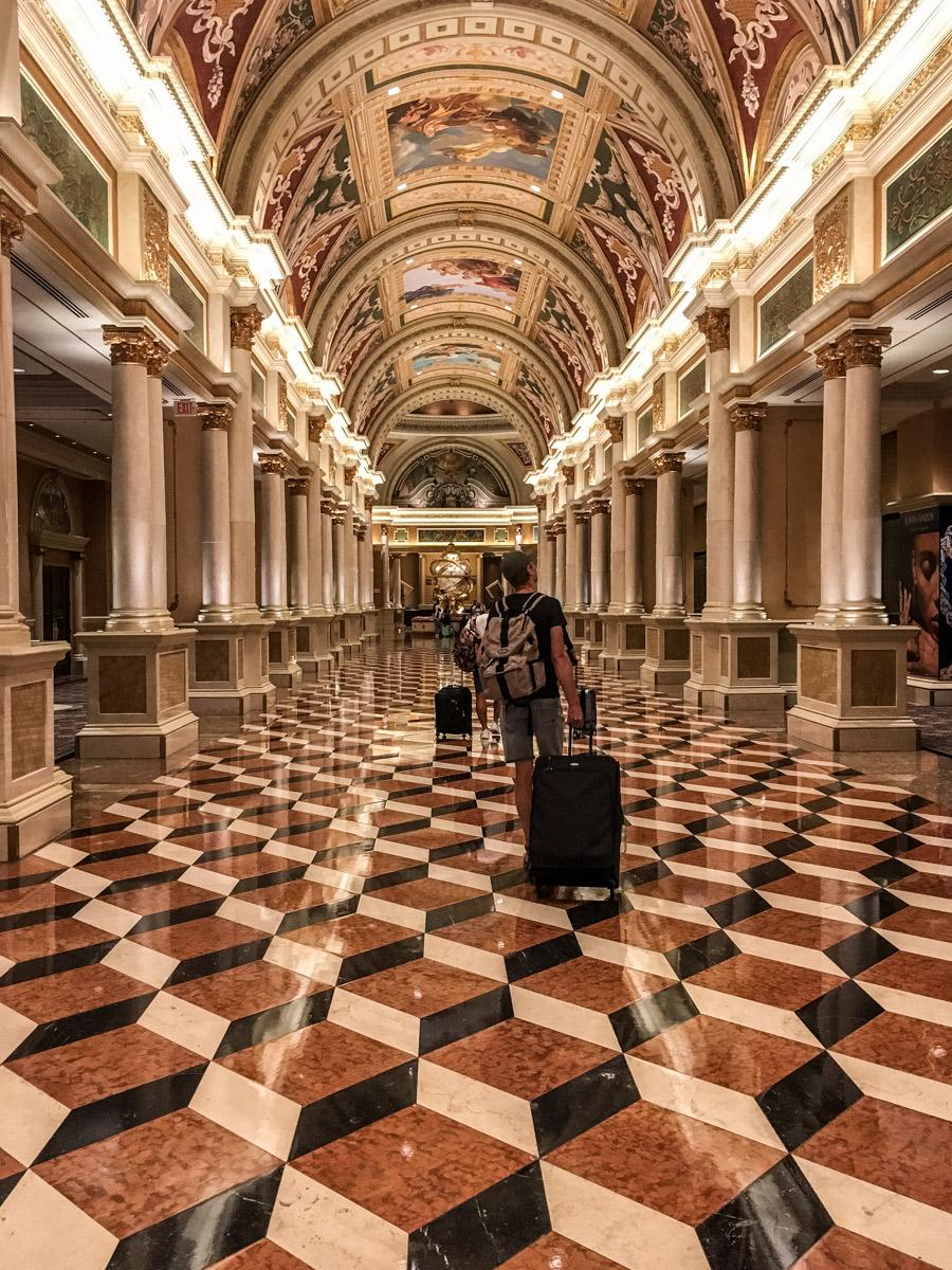 Las Vegas. Miasto grzechu. Hotel Venetian