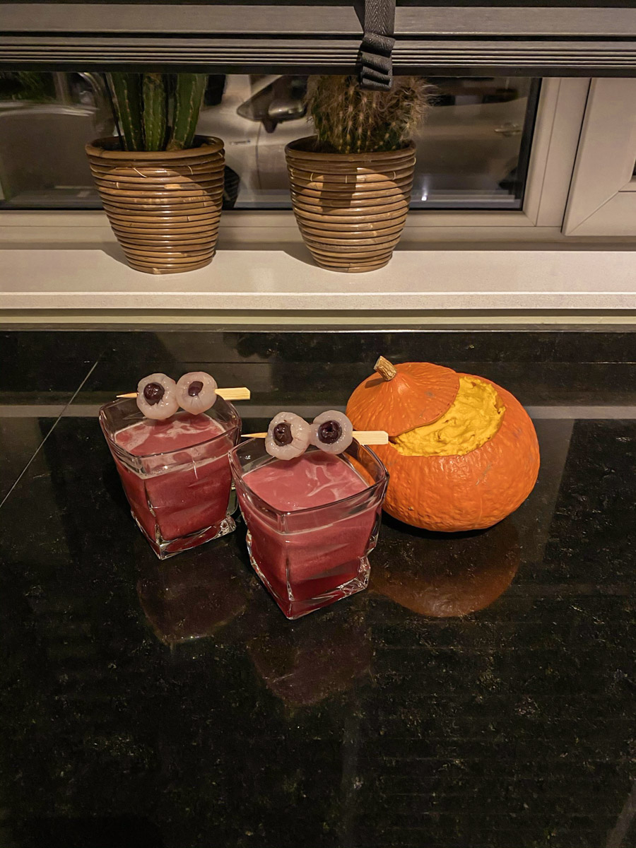 koktajl na halloween